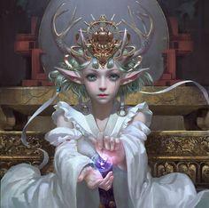 View album on Yandex. Fantasy Characters, Female Characters, Character Art, Character Design, Enchanted Fairies, Deer Art, Fun Comics, Manga Drawing, Fantasy Girl