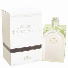 Voyage D'Hermes by Hermes Eau De Toilette Spray Refillable 3.3 oz. This is a woody musky scent from the prestigious French luxury Company. Composed by master perfumer Jean Claude Ellena, it is dynamic and transports you on a journey of the senses. The notes are redolent of foreign encounters and include cardomom,  sparkling citruses, gigner, vegetals, and exotic woods.