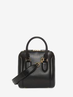 ALEXANDER MCQUEEN Medium Heroine. #alexandermcqueen #bags #shoulder bags #hand bags #suede #lining #