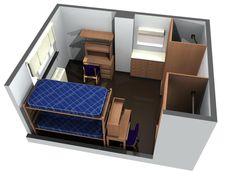 Grogan Residence Hall room layout