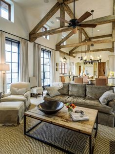Rustic Living Space