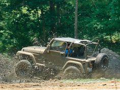 99 Jeep ... & MUD!