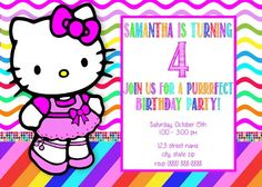 Hey, I found this really awesome Etsy listing at https://www.etsy.com/listing/203358834/hello-kitty-birthday-invitation-digital