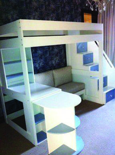 Youngsters Bedroom Furnishings – Bunk Beds for Kids Loft Beds For Teens, Bunk Beds For Girls Room, Bunk Bed With Desk, Loft Bunk Beds, Modern Bunk Beds, Bunk Bed With Trundle, Bunk Beds With Stairs, Kid Beds, Teenage Girl Bed