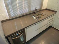 porcelanato para balcão de cozinha marrom claro
