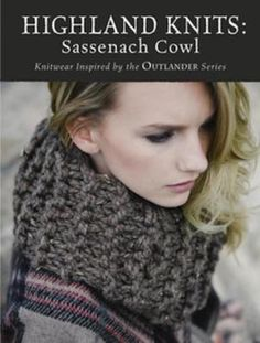 Outlander Highland Knits offers Claire's cowl pattern free