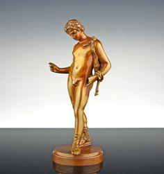 Vorzügliche Grand Tour Bronze 1860 Dionysos Pompeji Narziss Italien Miniatur | eBay