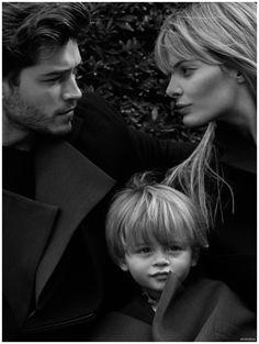 Francisco Lachowski, Jessiann Gravel and Milo Francisco Lachowski, Family Posing, Family Portraits, Family Photos, Jessiann Gravel, Toni Mahfud, Brazilian Models, Baby Family, Family Life