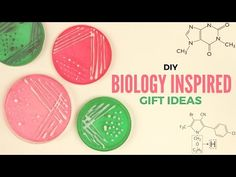 DIY: Biology Inspired Gift Ideas | Gift Ideas for Biology Lovers - YouTube