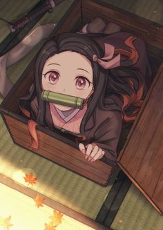 Kamado Nezuko - Kimetsu no Yaiba - Image - Zerochan Anime Image Board Anime Chibi, Chica Anime Manga, Otaku Anime, Cool Anime Girl, I Love Anime, Anime Art Girl, Anime Angel, Anime Demon, Loli Kawaii