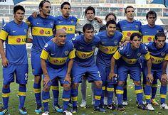 Equipo de Boca Juniors