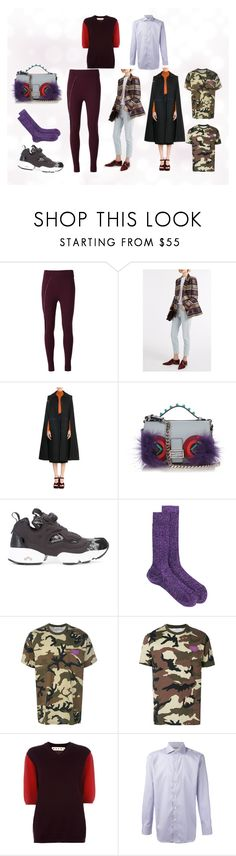 """The Fashion...."" by monica022 ❤ liked on Polyvore featuring No Ka'Oi, Marco de Vincenzo, Fendi, Reebok, Dsquared2, Givenchy, Marni and Canali"