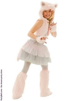 Grace Kitty Tween Costume $47.99