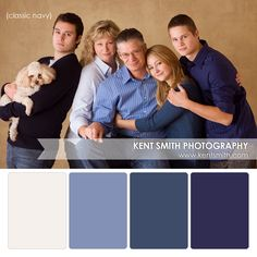 Portrait Palettes {classic navy} #Photography #clothing #colors (Hate the pose though!)
