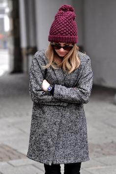How to Wear a Grey Herringbone Coat For Women looks & outfits) Fashion Moda, Look Fashion, Fashion Outfits, Womens Fashion, Fashion 2016, Fashion Clothes, Fall Fashion, Casual Outfits, Fall Winter Outfits