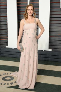 Inside the Most Exclusive Oscar After-Parties Emily Blunt in Prada and Sergio Rossi shoes