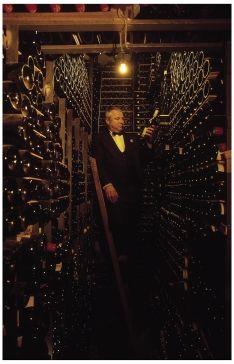 David Ridgway of the Tour d'Argent in the best wine cellar in Paris