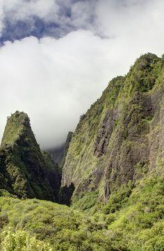 Iao Needle in Iao Valley State Park, Maui, Hawaii
