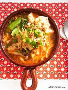 坦々風ピリ辛ごまの豆腐チゲ by 庭乃桃   レシピサイト「Nadia   ナディア」プロの料理を無料で検索