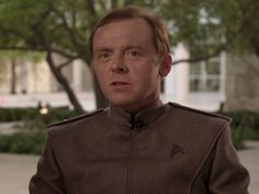 "I wanted to see more of Simon Pegg as Montgomery ""Scotty"" Scott. He was so funny and smart. * Star Trek Into The Darkness"