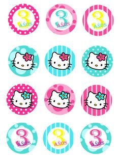 hello kitty cumpleaños - Tap the link now to see all of our cool cat collections Hello Kitty Theme Party, Hello Kitty Cupcakes, Hello Kitty Baby, Hello Kitty Themes, Hello Kitty Birthday, Cat Birthday, Kitty Cake, Decoracion Hello Kitty, Anniversaire Hello Kitty