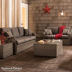 Create a summer retreat right at home with the Capri outdoor collection.