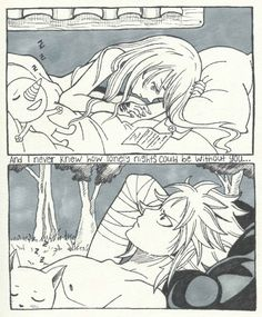 My computer has been really buggy, so I haven't been able to use my art programs:( But I wasn't going to let that stop me from participating in NaLu Week! So good old fashioned inking it is!:) I'm a little late to the party, but this is my entry for...