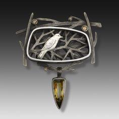Suzanne Williams, sterling silver, agate, champagne diamonds. suzannewilliamsjewelry.com