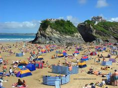 Newquay, Cornwall. Beaches weren't quite so full in September while we were there!