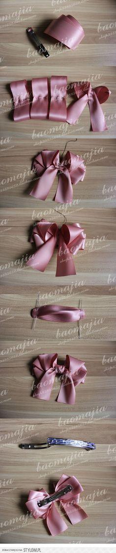 cute bow for hair clips, etc.
