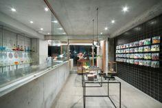水泥與木頭的極簡搭配-Papabubble橫濱店   ㄇㄞˋ點子靈感創意誌