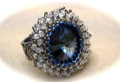 Bead & Button Ring  Pattern link: http://cs.jewelrymakingmagazines.com/bnb/b/beadandbutton/archive/2011/04/18/royal-engagement-ring-tribute.aspx