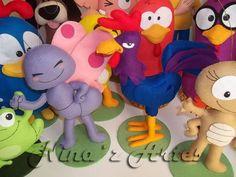 turma da galinha pintadinha em feltro - Pesquisa Google