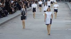 Chanel runway spring-summer 2015.