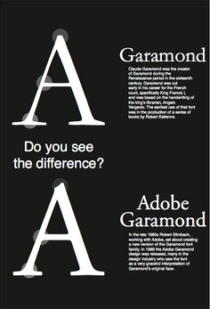 Another Adobe Garamond poster.