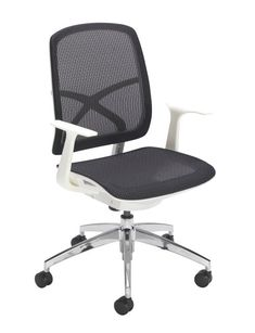 Mesh office chairs can keep you more productive throughout your work day with its comfort and ventilated design. The breathable mesh materials allows air to circulate to keep you cool while sitting #meshofficechair