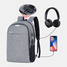 Hoteon Mobilife Business Laptop Water Resistant Anti-Theft Backpack with USB Charging Port and Lock Inch Computer Backpacks for Men and Women (Grey) Cool Backpacks For Men, Men's Backpacks, Backpacks For Sale, Backpack Online, Laptop Backpack, Backpack Purse, Crossbody Bag, Anti Theft Backpack, Backpacks