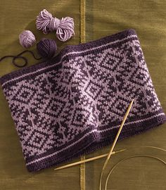 Whether you're in the mood for simple stripes or fabulous Fair Isle, this cowl will have you covered.