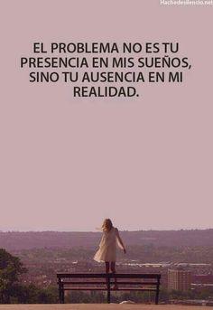 La verdad...mejor quédate en mis sueños, en la realidad me eres perjudicial :) y  mejor si no estás en ningúno.