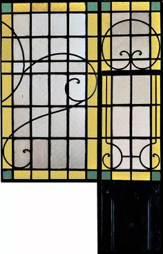 ventanas de hierro vidrio repartido