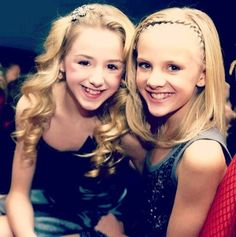 Dance Moms Chloe and Paige. Forever love twinnies<3