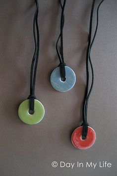 A Day In My Life: Tutorial: Washer Necklaces
