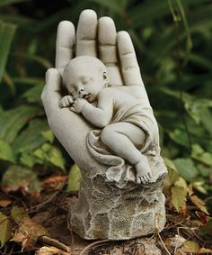 Love this In the Palm of His Hand Statue on #zulily! #zulilyfinds