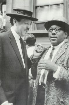 Lester Young and Roy Eldridge