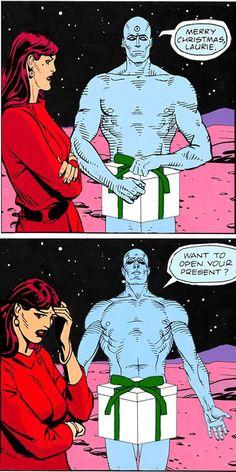 doctor manhattan nude cosplay
