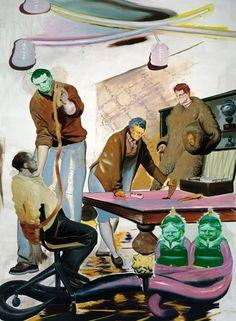 NEO RAUCH http://www.widewalls.ch/artist/neo-rauch/ #NeoRauch #contemporaryart #paintings