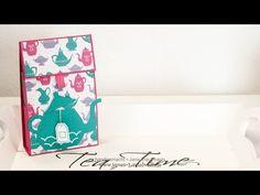 Tutorial zum SdM April 2016: Teeverpackung
