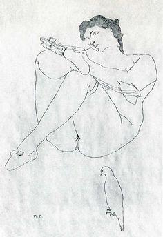 selected-details-after-courbet-1968 Marcel Duchamp--- I Love The Little Bird