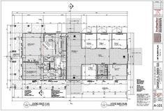 Plan Home and Barn Layout 1st Level