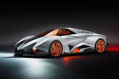A fighter jet, spaceship, transformer looking concept car from Lamborghini called EGOISTA. Love it? or Hate it?
